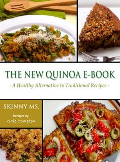 Here's our new Quinoa Recipe ebook…healthy and easy to prepare recipes the whole family will love. Check it out! :)