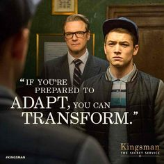 Kingsman Secret Service. Not only my favourite movie but I love this quote! #kingsman #spy #Colinfirth #quote #success #movie #fit #gym #love #