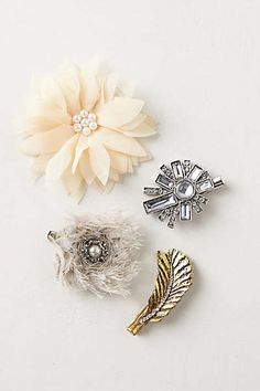 Anthropologie - Coquette Clips
