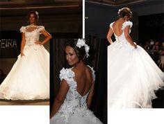 Vestidos de Noiva Micaela Oliveira 2012… para noivas sensuais e arrojadas!
