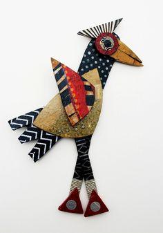 Benjamin Folk Art Bird