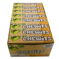 24pcs Chewits Ice Cream Flavour Chewy Sweets Full Box