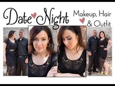 Date Night Makeup, Hair & Outfit! @Makeup Geek