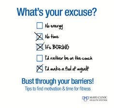 Don't let these barriers stand in your way of getting fit.