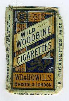 Wild Woodbine Cigarettes ~ My Nan Used To Smoke These !
