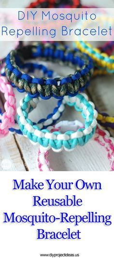 Make Your Own Reusable Mosquito-Repelling Bracelet
