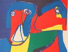 "aymerydelamaisonfort: "" Karel Appel, Confidences, 1969. Lithograph """