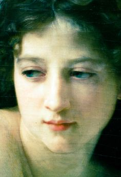 Detail - The Two Bathers,1884,William-Adolphe Bouguereau.