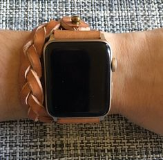 42mm Genuine Leather Apple Watch Band 42mm Custom Band with