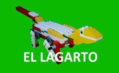 Robotica educativa lego wedo LAGARTO