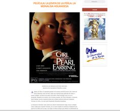 Reseña de película: La joven de la perla, la Monalisa holandesa. http://aureavisurarevista.fad.unam.mx/?p=3322