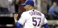 Watch the final out of Johan Santana's no-hitter against the Cardinals.