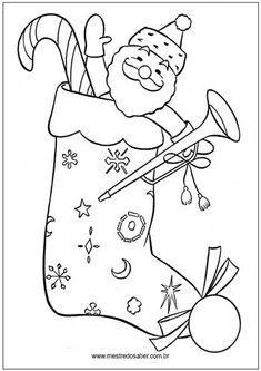 16 Melhores Imagens De Desenhos De Natal Para Colorir Desenho De