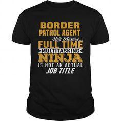 Cool Border Patrol Agent T shirts