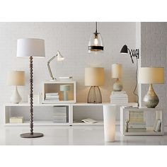 Marina Table Lamp in Table & Desk Lamps | Crate and Barrel