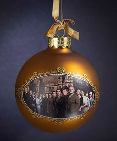 Look at this Downton Abbey Season Two Ball Ornament on #zulily today!