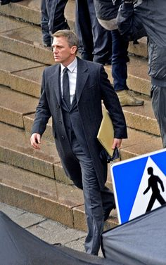 Daniel Craig.  This man is perfection in a suit. (Or out of it).
