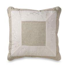 Mikasa Countryside 18-Inch Square Toss Pillow - BedBathandBeyond.com