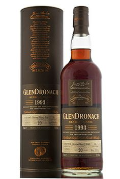 Distilled in 1993, this outstanding dram has been bottled exclusively for abbeywhisky.com. The whisky has taken on a beautiful, dark crimson colour thanks to its 20 year slumber in an oloroso sherry butt, single cask #33 to be precise. Full bodied, wonderful flavours, the perfect winter warmer... At 59.1% vol it packs quite a punch!!   http://www.abbeywhisky.com/glendronach-1993-20-year-old-oloroso-sherry-butt-abbey-whisky-exclusive