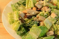 Receta de Ensalada tibia de pollo con queso y nueces