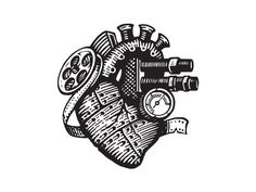 Camera Film Heart -- Would make an awesome tattoo!