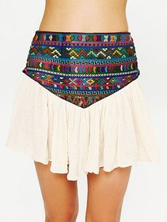 Guipil Asteria Mini Skirt  http://www.freepeople.com/whats-new/guipil-asteria-mini-skirt/