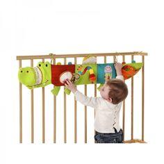 Lilliputiens Theophile Entdeckerkrokodil - Spielzeug für Bettchen oder Laufstall