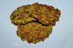 Cuketovo-mrkvovo-pohankové placičky