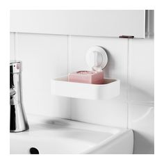 IKEA - STUGVIK, Soap dish with suction cup, , The suction cup grips smooth surfaces.It's easy to keep the soap dish clean as the dish itself is removable. Home Organisation, Bathroom Organization, Ikea Us, Home Gadgets, Affordable Furniture, Small Storage, Floating Nightstand, Bathroom Accessories, Storage Solutions