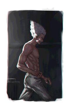 Garou by on DeviantArt One Punch Man Anime, Anime One, Man Wallpaper, Saitama, Light Of My Life, Man Photo, Fujoshi, Anime Naruto, Cartoon Art