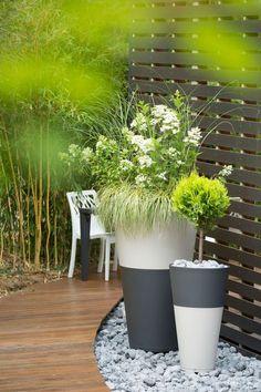 Des pots empilables et modulables pour votre jardin, terrasse et balcon