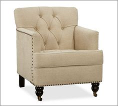 Tudor Armchair | Pottery Barn