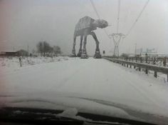 Caution:  AT-AT crossing ahead.