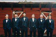 navy blue groomsmen