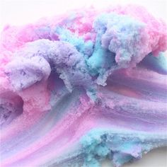 60ml Slime Crystal Snowflake Cotton Mud Lacquer DIY Colorful Plasticine Decompression Toy