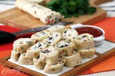 Tortilla Pinwheels :: Home Cooking Adventure