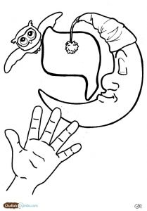 aleph bet coloring pages - photo#16
