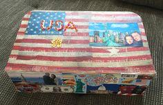 Meine neueste Geschenkidee für Freunde, die demnächst in die USA verreisen werden! Lasst euch von meiner neuesten Bastelei inspirieren und schenkt euren Freund