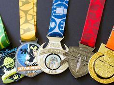 Disneyland Star Wars Race 2016 Medals
