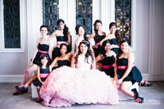 Dallas Quinceanera. Orion Ballroom - Dallas. @Julie Gates the Box Catering . Pink quinceanera dress. Quinceanera ideas. Dallas Wedding Photographer