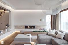 Dom w Gdańsku 2014 - Minimalism Interior, Luxury Living Room, Luxury Living Room Design, Apartment Design, Bedroom False Ceiling Design, Minimalist Living Room, Contemporary Home Decor, Home Interior Design, Living Room Designs