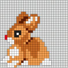 Perleplade – Mus og Trold Beaded Cross Stitch, Cross Stitch Baby, Cross Stitch Animals, Cross Stitch Embroidery, Hama Beads Patterns, Beading Patterns, Cross Stitch Designs, Cross Stitch Patterns, Art Perle