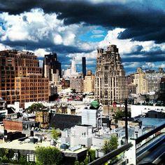 Electrifying views. #NYC #HighLife