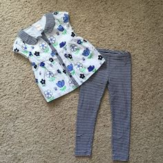 Check out this listing on Kidizen: ~Gymboree~ Navy Flower Outfit Size 4T via @kidizen #shopkidizen