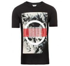 Jack&Jones T-shirt JCOMANGO Black Slim Fir