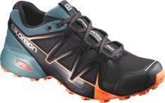 a1c00a1d09b Salomon Men s Speedcross Vario 2 Trail-Running Shoes Black North Atlantic  10.5 Tenis Salomon