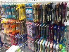 Narrow Gauge Multi-Hook For Yarn and Thread – Fixtures Close Up Pegboard Display, Gauges, Hooks, Retail, Haken, Shops, Wall Hooks, Retail Space, Retail Merchandising