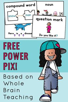 Do you use Whole Brain Teaching? These Reading Power Pix have been a lifesaver! I created them for my student teacher to use as visual supports with small groups. The student-friendly pictures help the learning stick! Download your free set today! #wholebrainteaching #powerpix