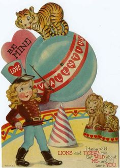 Circus Tiger Valentine / Flickr - Photo Sharing!