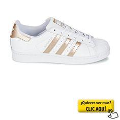 newest af96d 860d0 adidas Superstar W, Zapatillas para Mujer, Blanco...  zapatillas